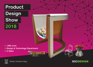 Product Design Show 2018 invite back