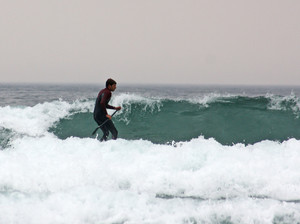 F2 surfing on Science Cornwall Trip