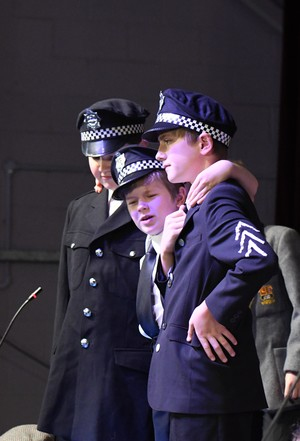 L3rd policemen in The Young Sherlock play