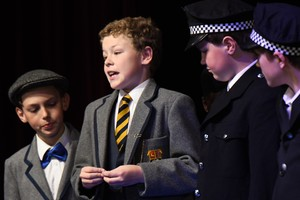 The Young Sherlock play to Prep School by L3rd