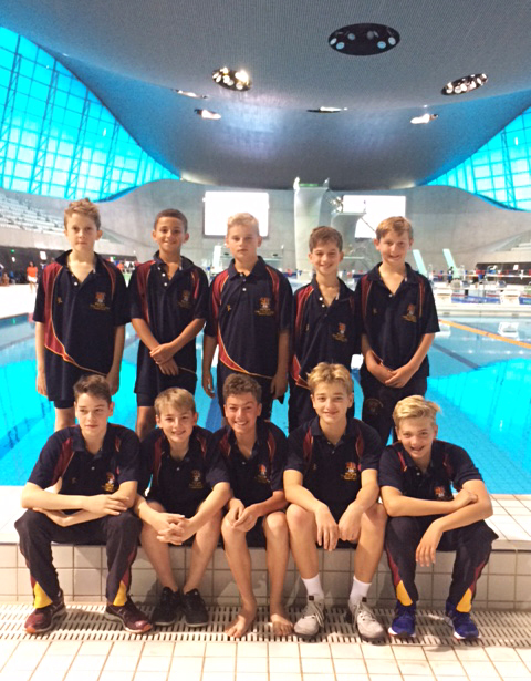 Iaps boys at london aquatic centre