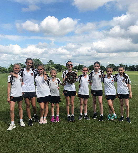 U12B district rounders champions june 2018