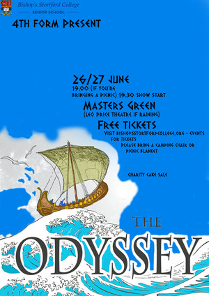 Odyssey 4th Form Poster