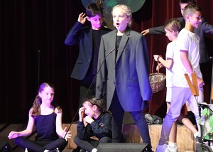 Prep School Drama performance of Form 1 Entertains 2018