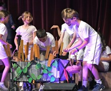 Prep School Form 1 drama production
