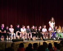 Form 1 Entertains Prep School production