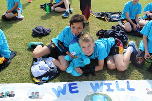 Shell pupils enjoying Sports Day 2018