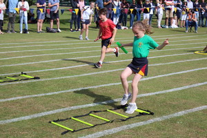 Shell Sports Day running competition