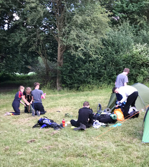 Lower 5th Pupils on Bronze DofE Expedition 2018