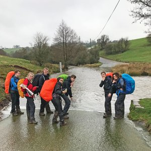 Dofe pupils on silver expedition 2017