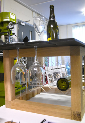 Wine holder for Product Design Show 2018