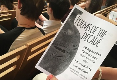 L6 at the Poems of the Decade Conference 2018