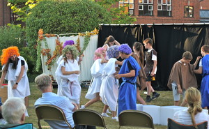 The Odyssey production by the 4th Form