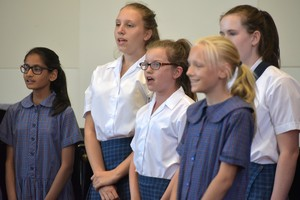 Group of Girls in Prep School House Music 2018