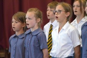 Westfield House in Prep School House Music 2018