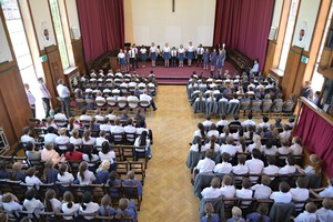Mem Hall during Prep School House Music 2018