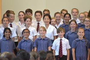 Prep School singers compete in House Music 2018