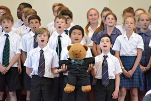 Prep School singers in House Music 2018