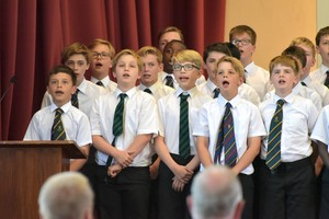 Prep School singing for House Music 2018