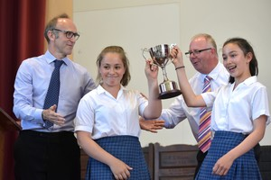 Prep School House Music awarded trophy 2018