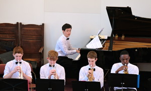 Senior School musicians at Picnic Concert 2018