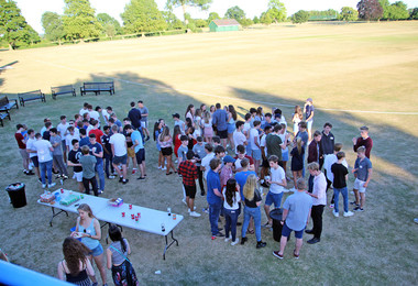 Sixth Form Induction BBQ on Top Field 2018