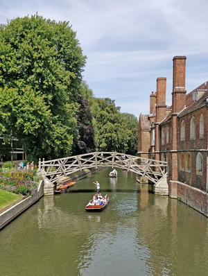 EPT L6 Induction punting in Cambridge