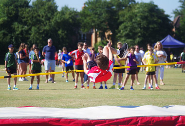 High Spirits at Prep School Sports Day