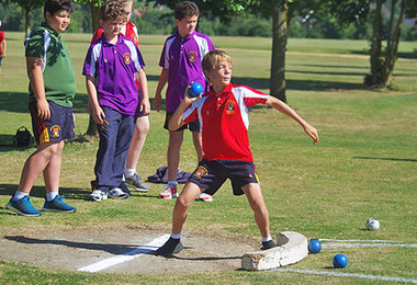 Monk jones boy shot put sports day 2018