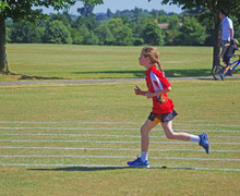 Monk jones girl running sports day 2018