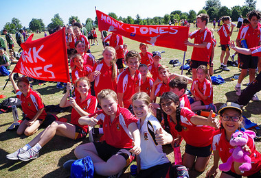 Monk jones house pupils at prep school sports day 2018