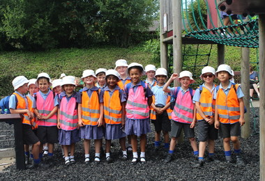 Pre-Prep pupils enjoying Colchester Zoo