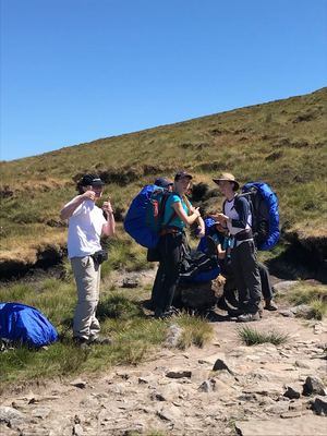 DofE Explorers on Gold Expedition 2018