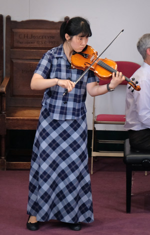 Instrumental Competition 2018 violinist