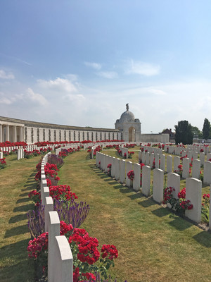 Battlefields Trip to Ypres 2018