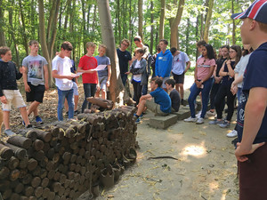 Fourth Formers on Battlefields Trip to Ypres
