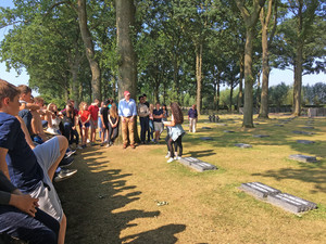 Battlefields group in Ypres