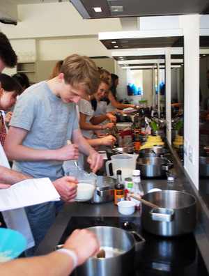 L6 cooking at Cambridge Cookery School 2018