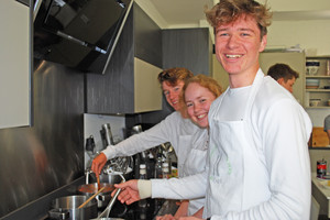 New skills for L6 at Cambridge Cookery School