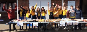 Bake sale for YoungMinds charity