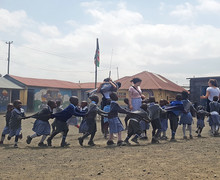 School playground Kenya 2018