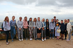 Sixth Form group on Kenya trip 2018