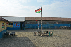 School on Kenya trip 2018