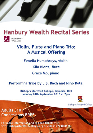 Hanbury wealth poster for trio