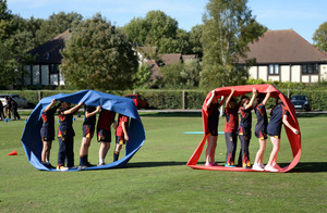 Prep School Lower Third pupils' teambuilding day