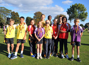 Winners in Prep School Marathon