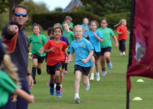Prep School pupils running in annual Marathon