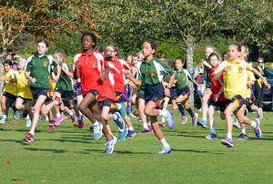 Grimwade and Monk Jones in Prep School Marathon