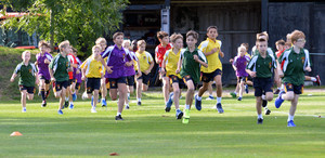 Westfield and Newbury runners in Prep School Marathon