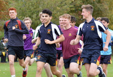 Senior School Runners Sprint to the Finish